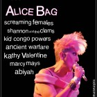 Cover Girl 001: An Interview with Alice Bag